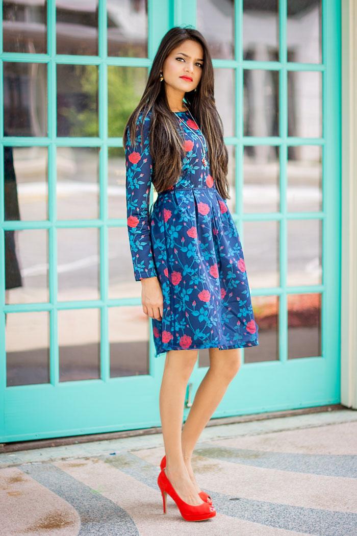 High waist dresses