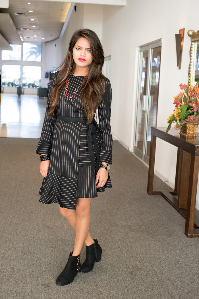 Strips Dress